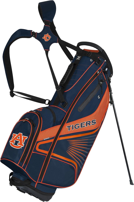 Team Effort Auburn Tigers Gridiron III Stand Bag : Golf Club Bags : Sports & Outdoors