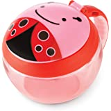 Skip Hop Baby Zoo Little Kid/Toddler Snack Cup, Livie Ladybug, Multi