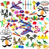 LoveS 100 Pc Party Favor Toy Assortment Kids Party Favor, Birthday Party, Holiday party, School Classroom Rewards, Carnival Prizes, Pinata Toys, Stocking Stuffers