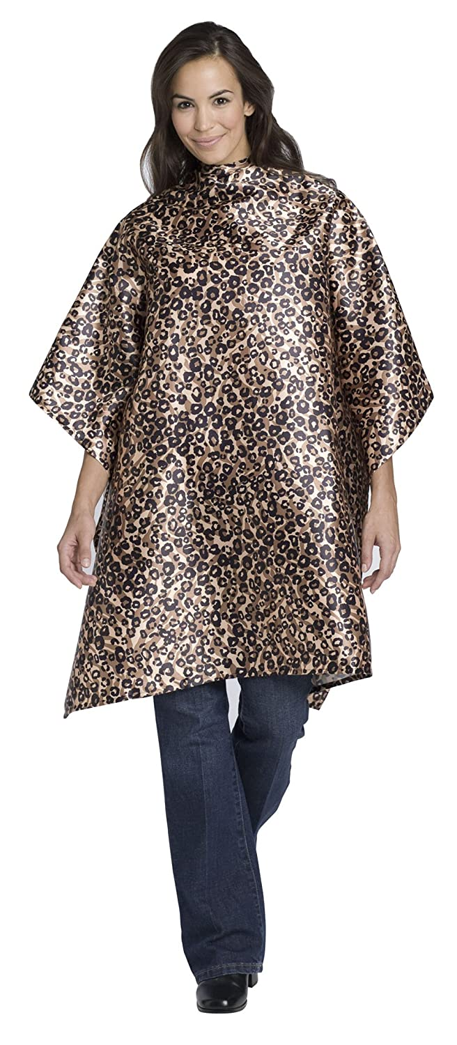 Andre Safari Hairstyling Cape, Leopard 612