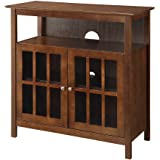 Convenience Concepts Contemporary Big Sur Highboy TV Stand, Espresso
