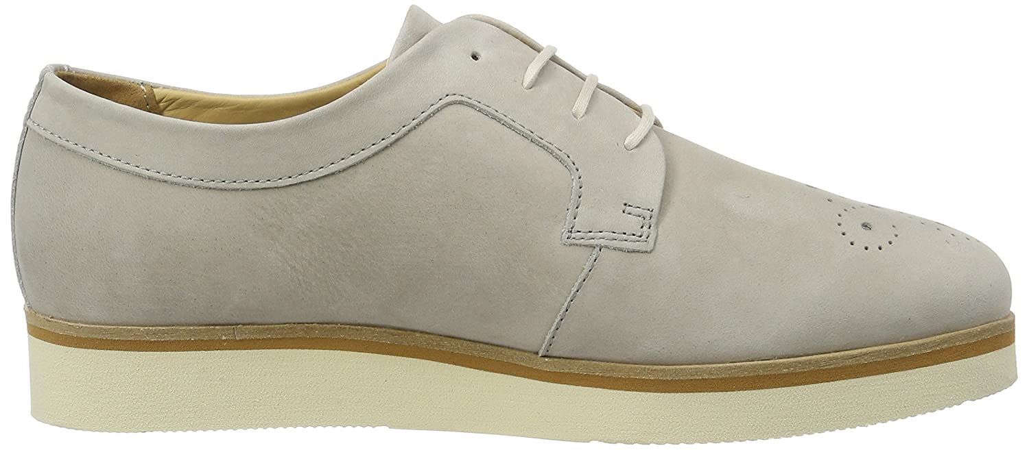 70113853401200 Lace Up, Brogues Femme, Gris (Stone 145), 38 EUMarc O'Polo