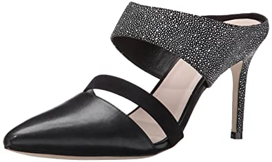 Cole Haan Women's Lexington 85 Dress Pump, Black/White/Black Nubuck, 9.5
