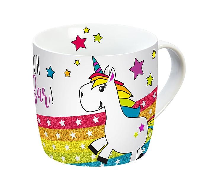 Taza de Unicornio con Arcoirirs