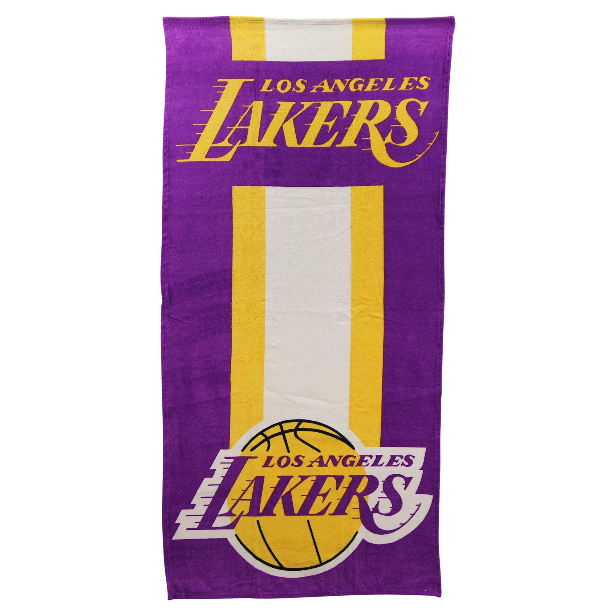 The Northwest Company NBA Zone Read Beach Towel 30'' x 60'' (Los Angeles Lakers)