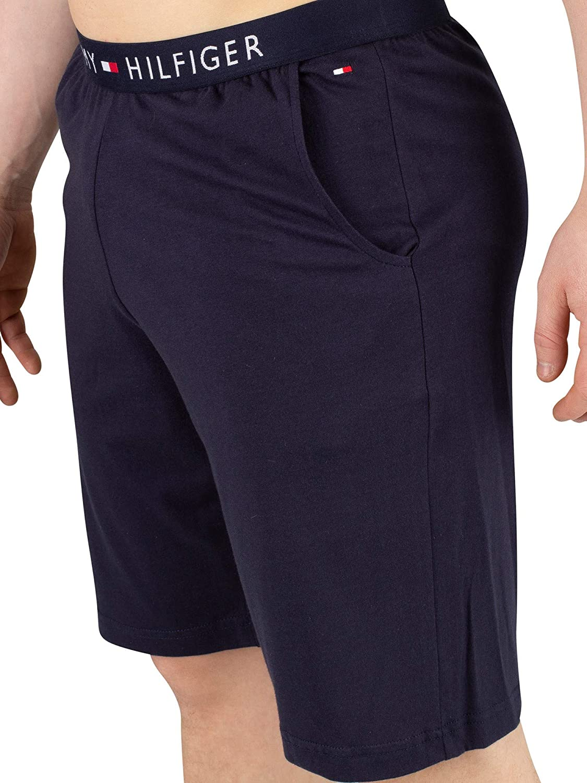Tommy Hilfiger Klassisches Logo Logo Logo Herren-Trikot Lounge Shorts, Marine B07PFVQC7Y Schlafanzughosen Einzelhandelspreis 02dfe9