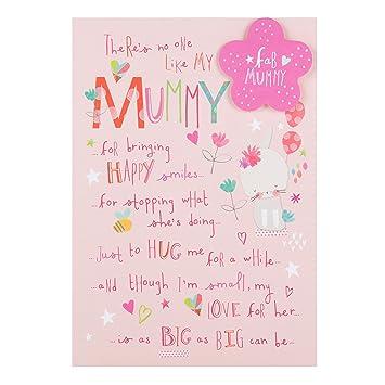 Hallmark Mummy Birthday CardLots Of Love