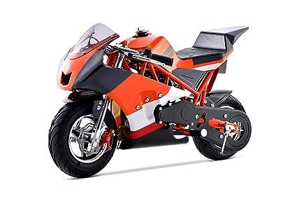 2018 Mini Gas Pocket Bike On 40cc (Orange)