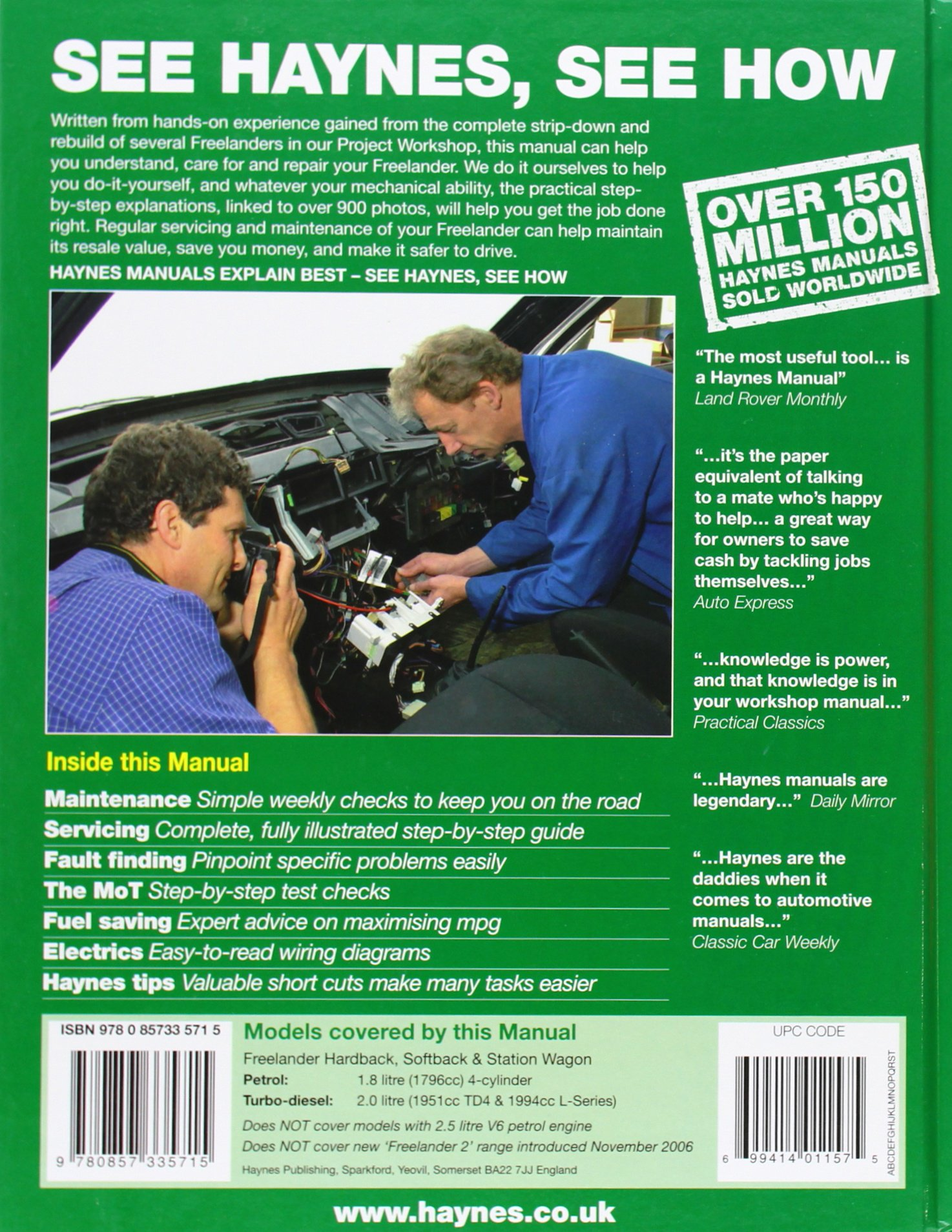 land rover freelander service and repair manual haynes service and rh amazon de