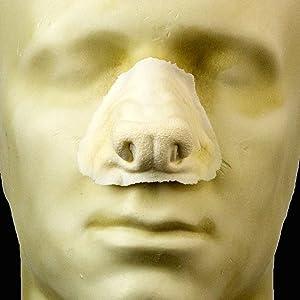 Rubber Wear Foam Latex Prosthetic - Large Werewolf Nose FRW-013 - Makeup Theater FX