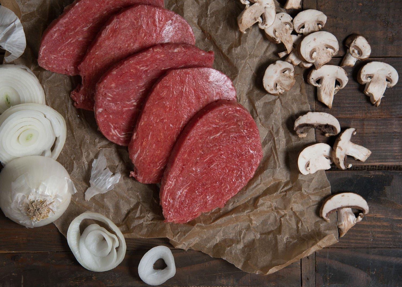 Devault Foods Break-Apart Beef Sirloin Tip