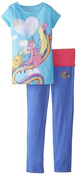 Amazon.com: Intimo Adventure Time Little Girls Yoga pijamas ...