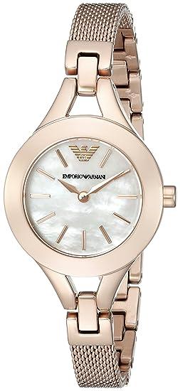 Relojes Mujer EMPORIO ARMANI ARMANI CHIARA AR7329: Amazon.es ...