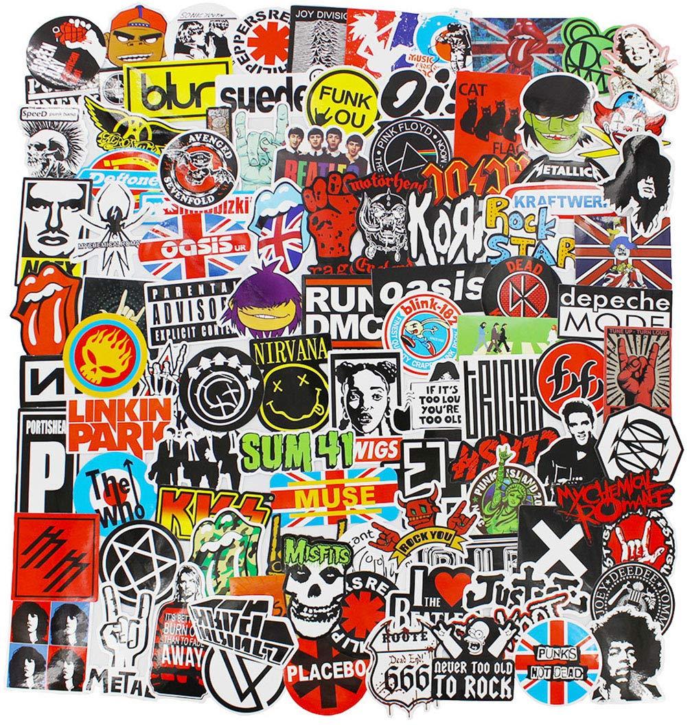Stickers Calcos 100 un. Surtidos Origen U.S.A. (7JJKFCQD)