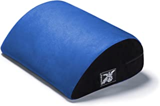 product image for Liberator Jaz Motion Sex Positioning Pillow, Microsuede Blueberry