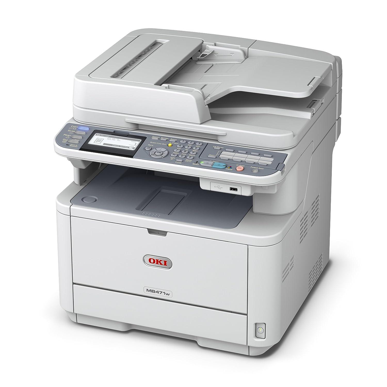 Amazon.com: OKI Data MB471 W LED Multi-Function Printer ...