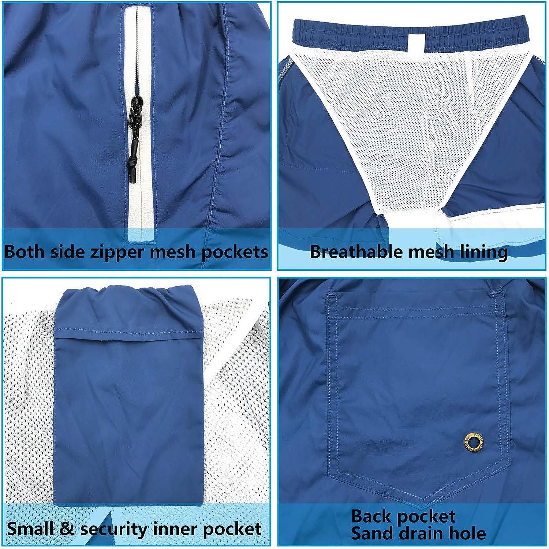 ba/ñador para hombre secado r/ápido impresi/ón 3D pantalones cortos de nataci/ón para j/óvenes HASAGEI Ba/ñador para hombre