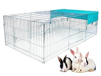 EUGAD Parque Jaula para Mascotas Perros Plegable 210 x 110 x 65cm 0198HT: Amazon.es: Productos para mascotas