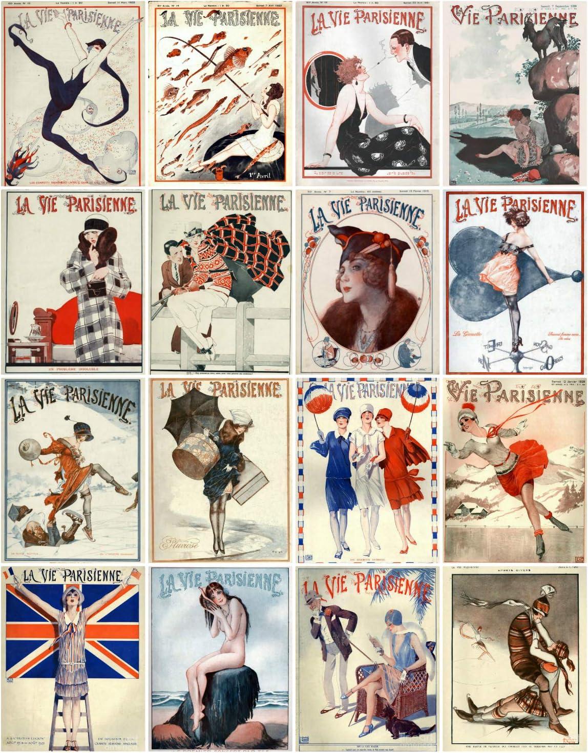 "Art Deco Collage  14 x 11/"" Photo Print"