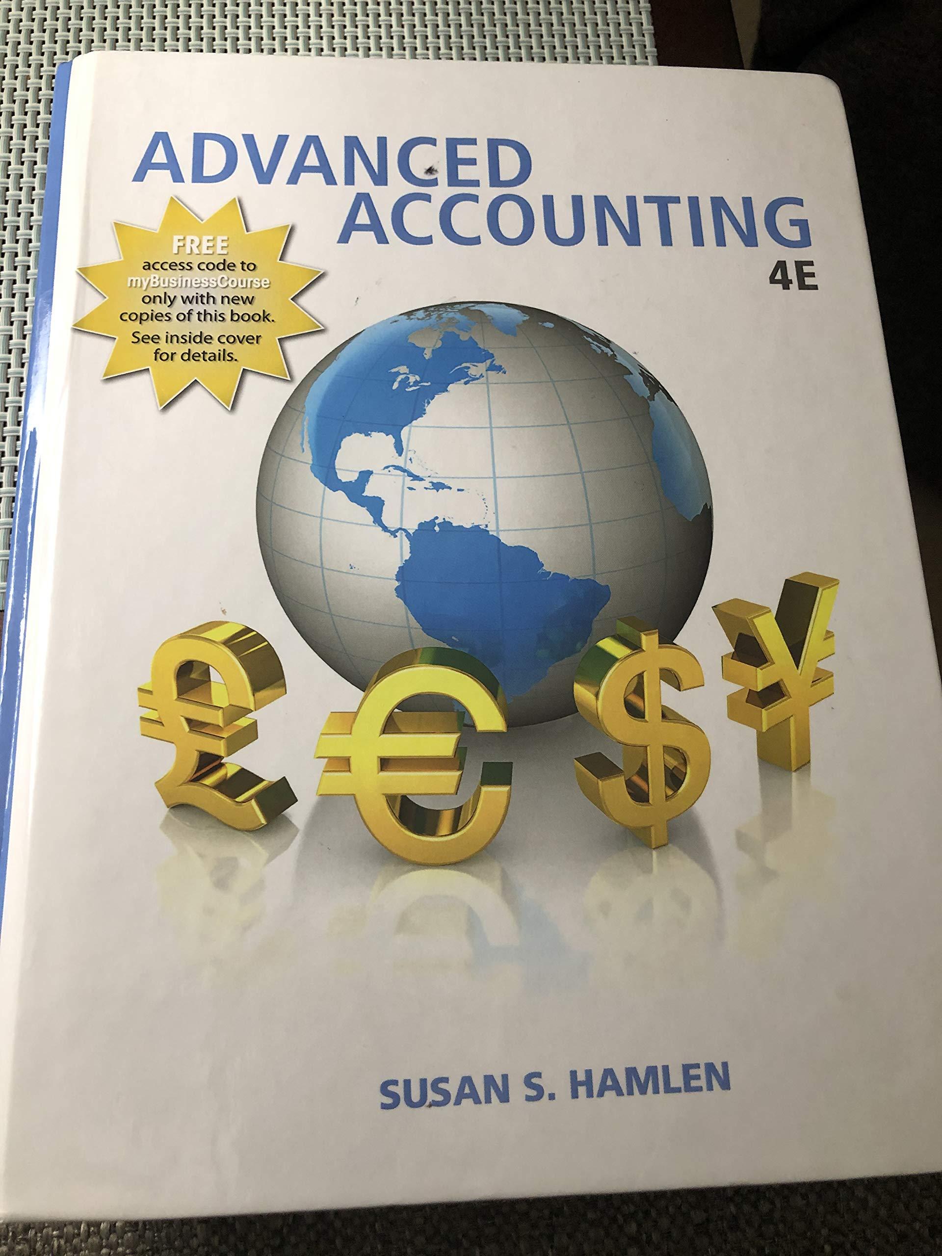 Advanced Accounting By Susan S Hamlen 9781618532619 Amazon Com Books