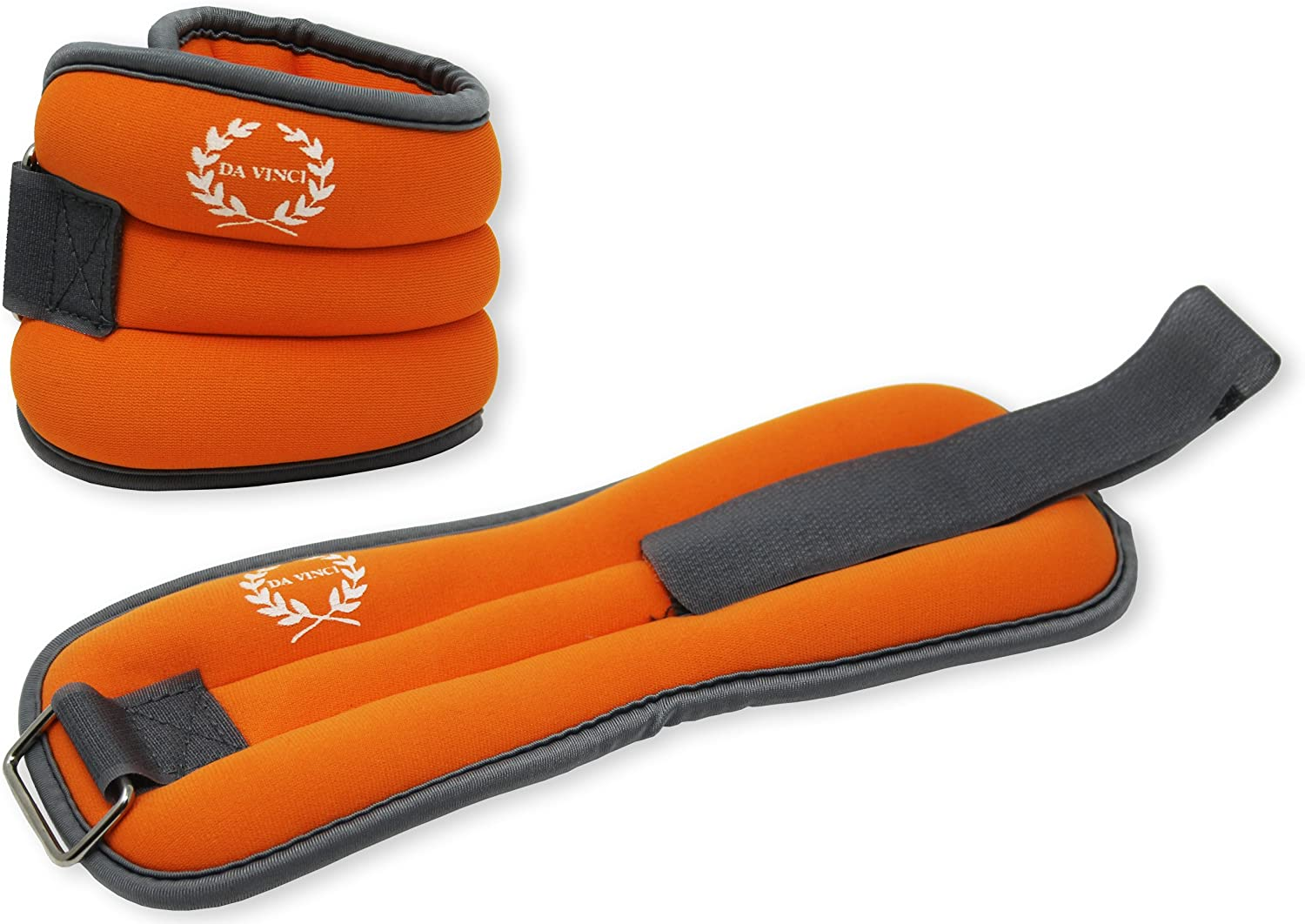 Da Vinci Adjustable Ankle or Wrist Weights Sold in Pairs of 1 to 5 lbs 2 to 10 lbs per Set