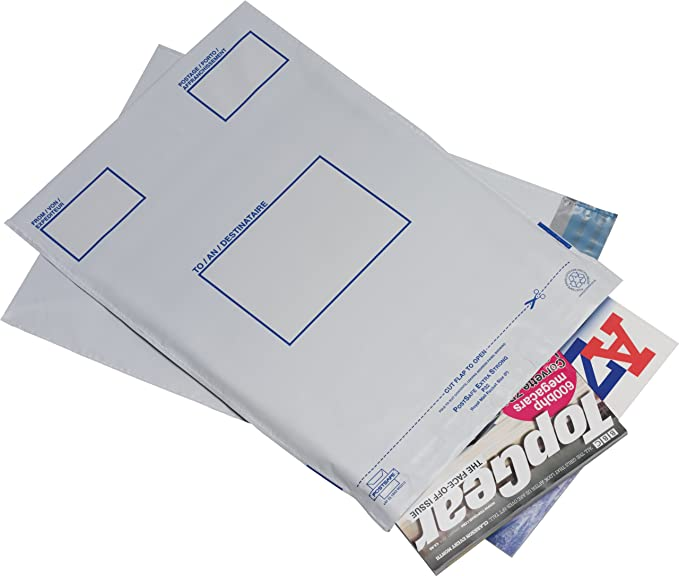 PostSafe P25 - Bolsas autosellables opacas (polietileno de ...