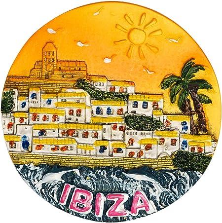zamonji Dalt Vila, Ibiza, Souvenir de España Imán de Nevera Imanes ...
