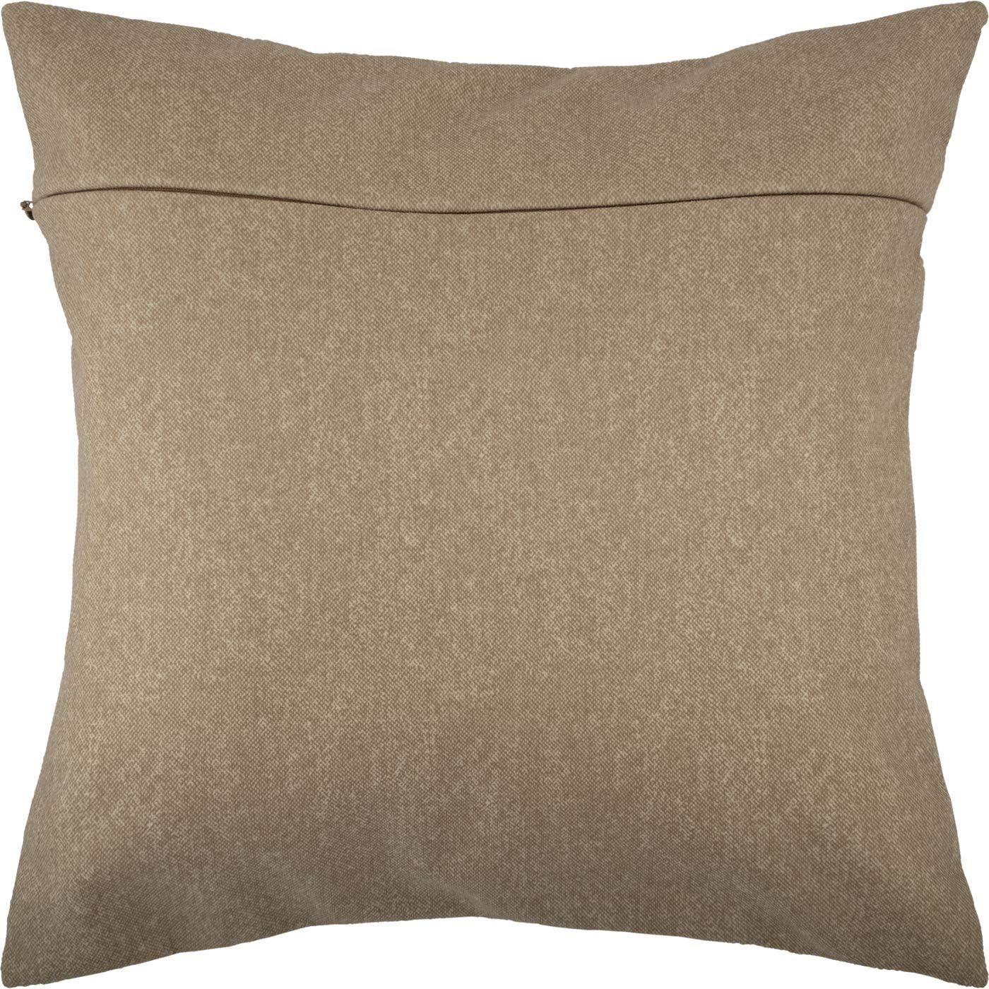 from Europe Ivory with Zipper Beige Backing for Throw Pillow Kits 16 /× 16 inches