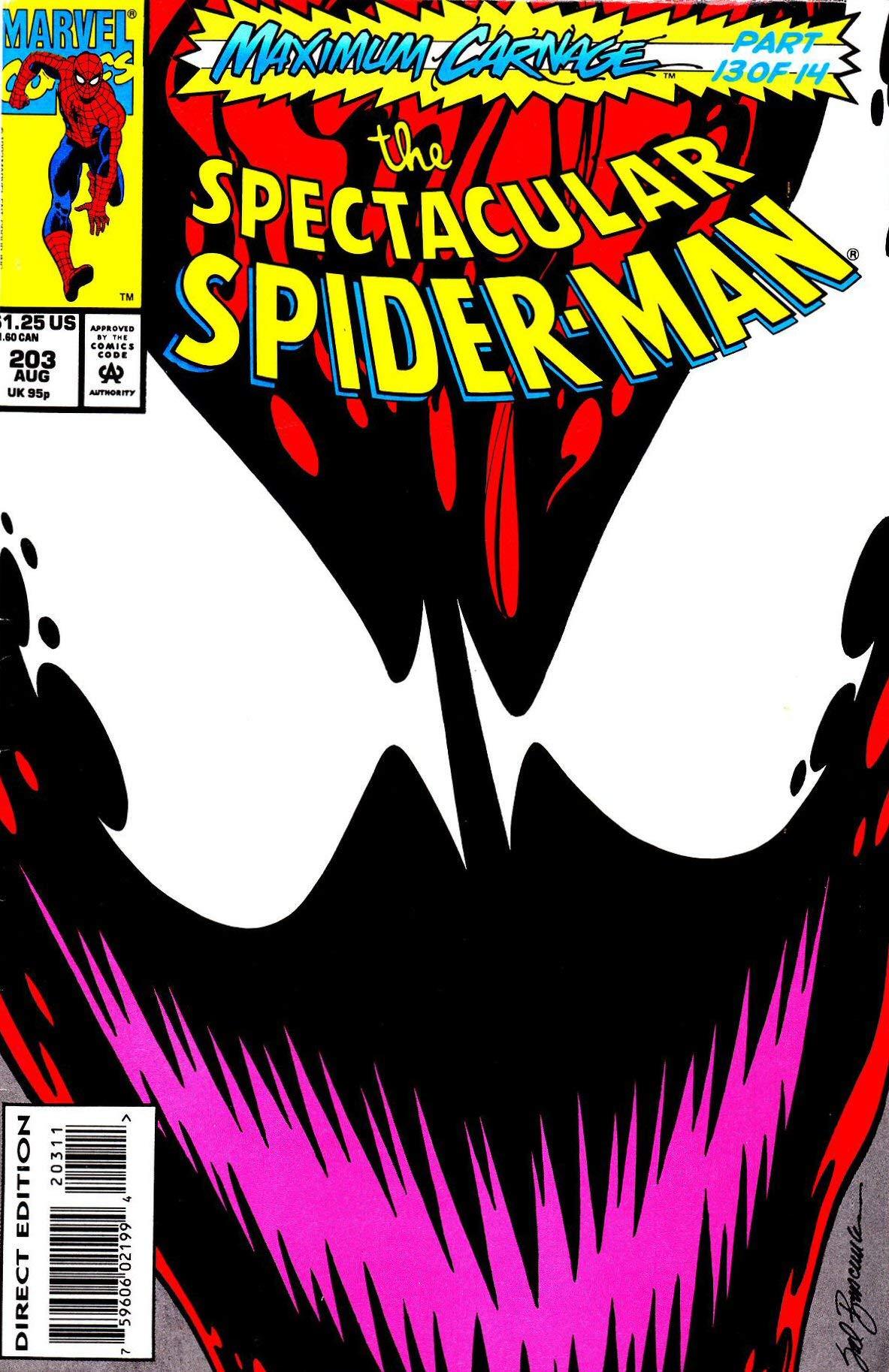 Spectacular Spider-Man #203