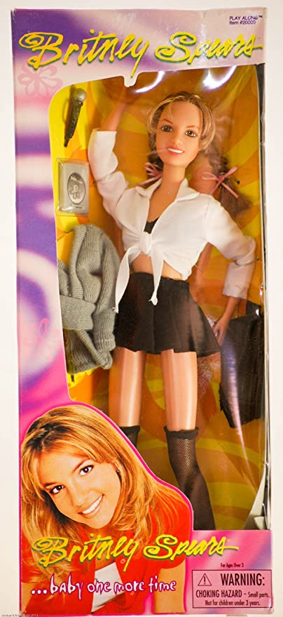 Amazoncom Britney Spearsbaby One More Time 1999 Toys Games