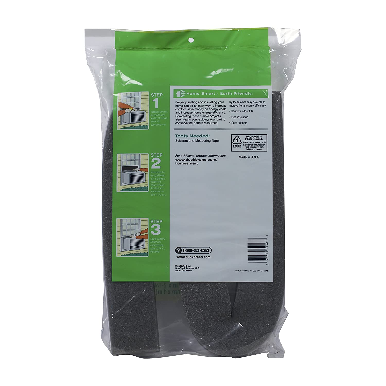 Amazon: Duck Brand 284423 Window Air Conditioner Insulating Strip Seal,  225inch X 225inch X 42inch: Home Improvement
