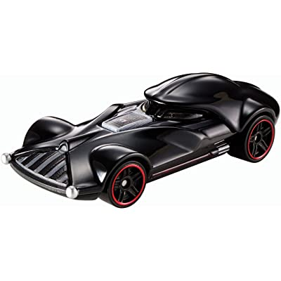 Hot Wheels Star Wars Darth Vader Character Car: Toys & Games