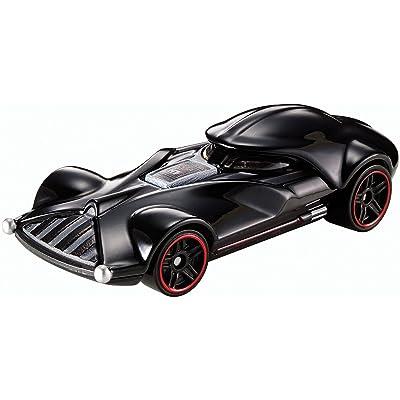 Hot Wheels Star Wars Darth Vader Character Car: Toys & Games