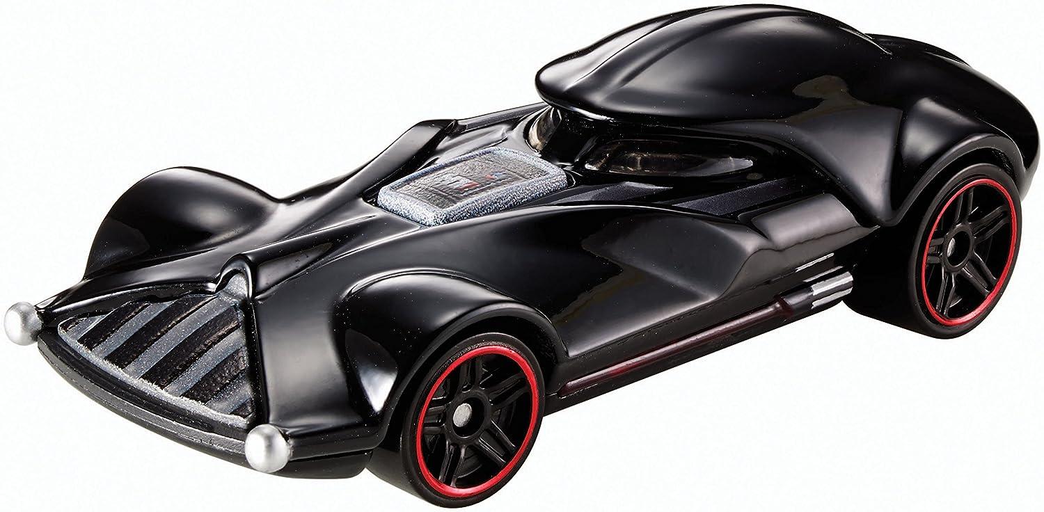 Hot Wheels Star Wars Darth Vader Character Car DTB03