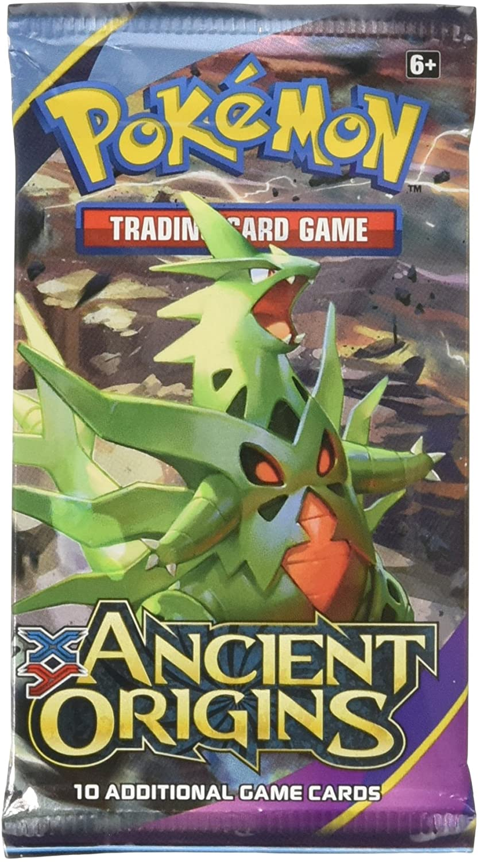 4X Pokemkon XY Ancient Origins Booster Pack Sealed Art Set!