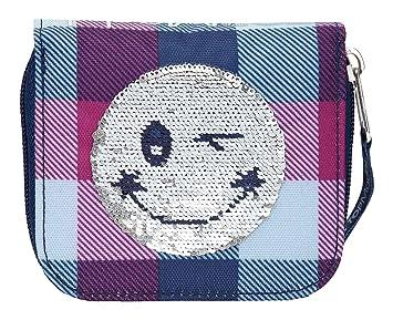 Depesche 10209 Cartera TOPModel Smiley con Lentejuelas, Color Azul: Amazon.es: Juguetes y juegos