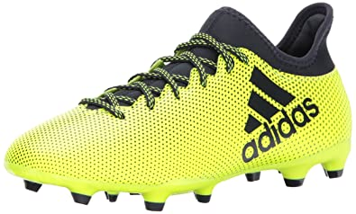 1665016d2 adidas Men s X 17.3 FG Soccer Shoe Solar Yellow Legend Ink