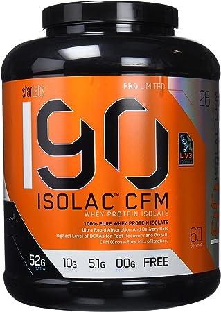 Starlabs Nutrition I90 Isolac CFM Strawberry Milkshake - 1810 gr
