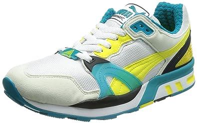 Puma Men's Puma Trinomic XT 2 PLUS White-Vg-Buttercup-Cb Running Shoes