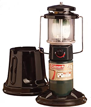 Coleman 2-Mantle QuickPack Propane Lantern with Case