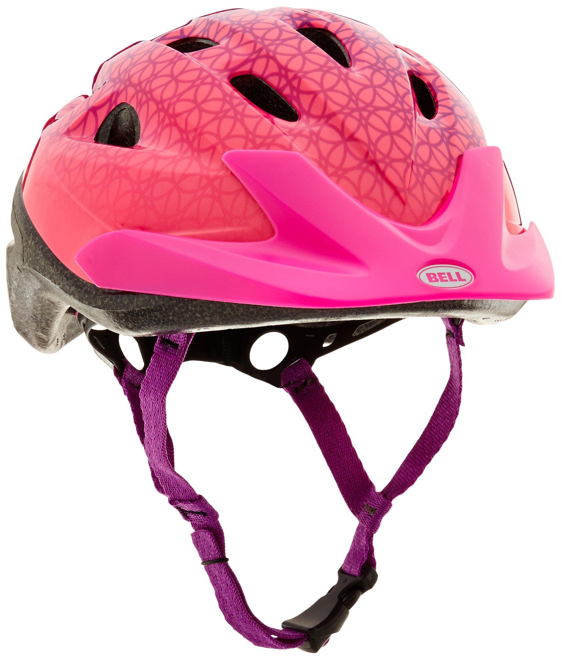 Bell 7063276 Child Pink Prismatic Rally Helmet