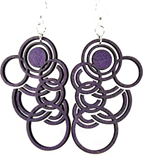 product image for Autumn Circles Earrings