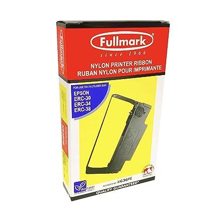 Fullmark N636PE - Cinta de Nailon para Impresora Epson ERC30 / 34 ...