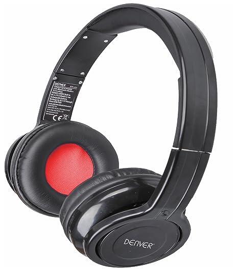 DENVER Auricular Bluetooth BTH202 Negro