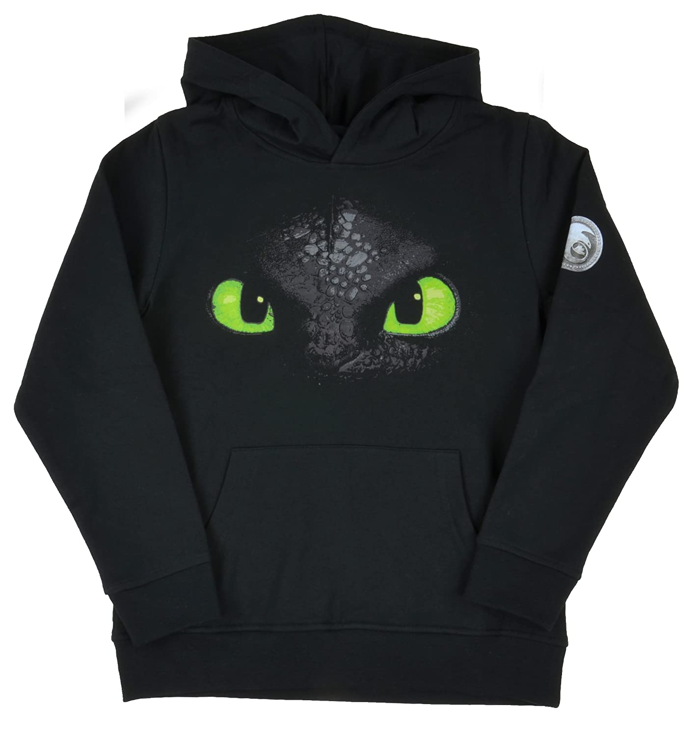 Dreamworks Dragons Hoodie Toothless faccia