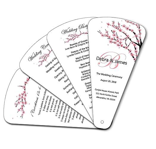 Amazon Com Cherry Blossom 4 Page Petal Wedding Ceremony