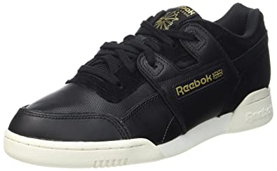 Reebok Herren Workout Plus Alr Gymnastikschuhe  42 EUSchwarz (Black/Chalk/Ash Grey/Rbk Brass)