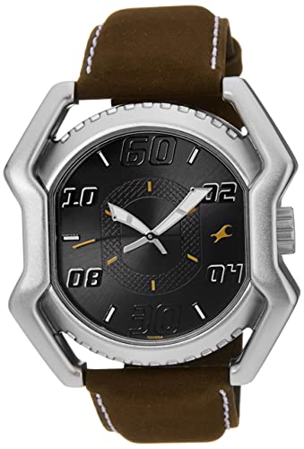 10. Fastrack Analog Multi -Color Dial Men's Watch -NK3112SL02