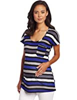 NOM Women's Maternity Orly Scoop Neck Shirt