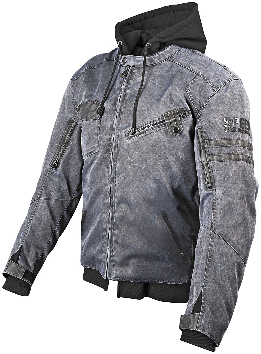 Speed and Strength Off the Chain 2.0 Men's Textile Jacket (Stealth, Large) 87-7813